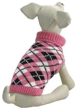 Свитер для собак Triol размер S унисекс, розовый, длина спины 25 см