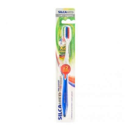 Зубная щетка SILCAMED PRO EXPERT  средней жесткости