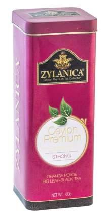 Чай черный листовой Zylanica batik design strong 100 г
