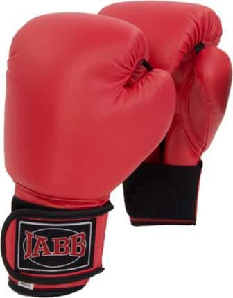 Боксерские перчатки Jabb JE-2021A красные 6 унций