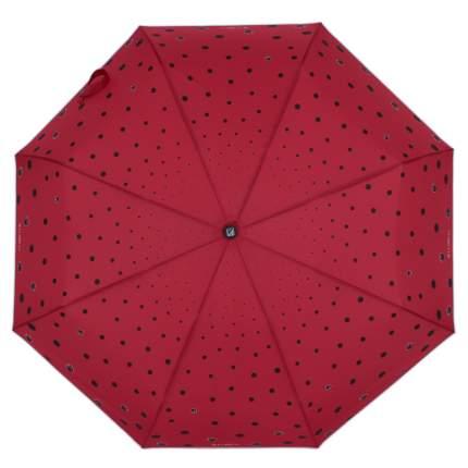 Зонт-автомат Flioraj 160407 FJ красный