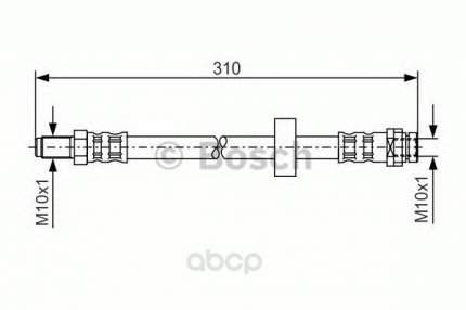 Шланг тормозной системы Bosch 1987476883