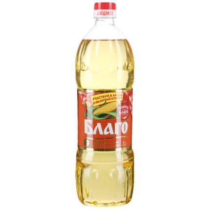 Масло Благо кукурузное рафинированное дезодорированное пластик 1 л