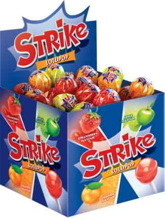Карамель Strike леденцовая на палочке ассорти 11.3 г 50 штук