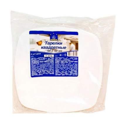 Набор одноразовых тарелок Horeca Select 180 мм Белый