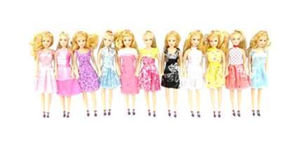 Кукла Gratwest в выходном платье с золотистыми волосами в пакете 29 см
