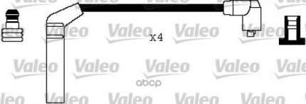 Комплект проводов зажигания Valeo 346354