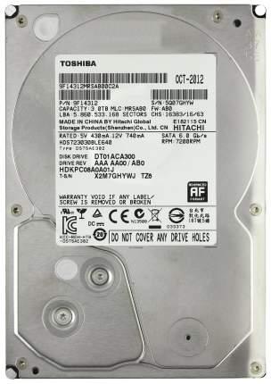 Внутренний жесткий диск Toshiba 3TB (DT01ACA300)
