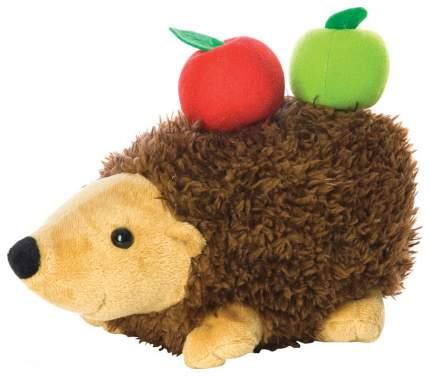Мягкая игрушка Мир Детства Ежик с яблоками 25 см