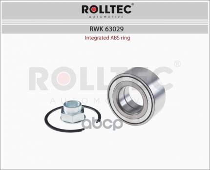 Подшипник ступицы ROLLTEC RWK63029