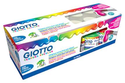 Гуашь Giotto Tempera Escolar 12 цветов