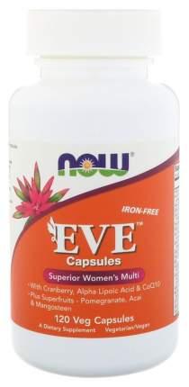 Витаминно-минеральный комплекс NOW Eve Women's Multi капсулы 120 шт.
