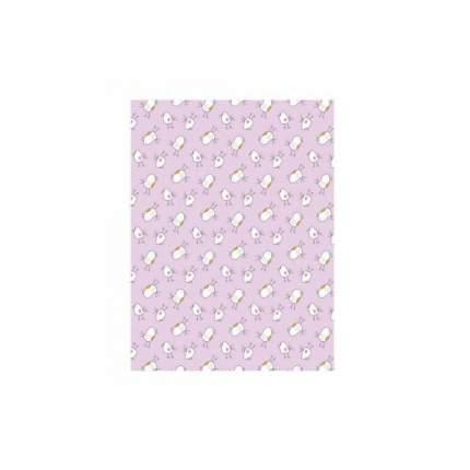 ОТК Плед-покрывало двухстороннее Птичка (цвет: розовый) УТ0004728