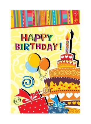 Открытка ND Play День рождения классический №5 273797