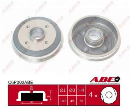Тормозной барабан ABE C6P002ABE