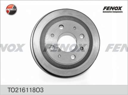 Тормозной барабан FENOX TO216118O3
