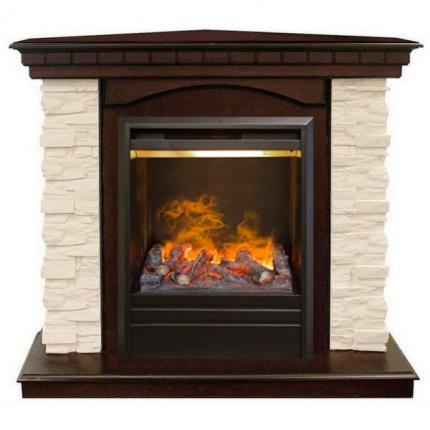 Комплект камина с очагом Real-Flame Elford Corner STD/EUG/ с очагом 3D Olympic
