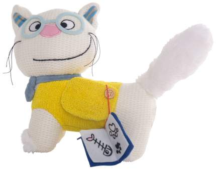 Мягкая игрушка животное Gulliver Кот ботаник 51-T78046A