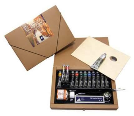 Масляные краски Maimeri Classico M0398060 12 цветов с палитрой