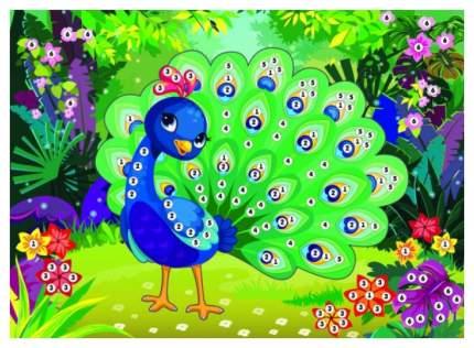 Набор для творчества Аппликация «Павлин» 635864 Color Puppy