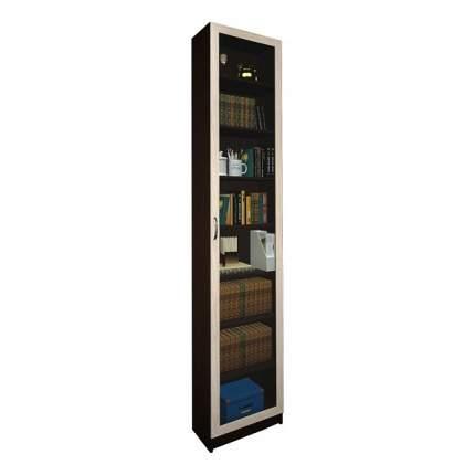 Шкаф книжный MFMaster Милан-47 MAS_MST-BDM-47-R-16-VD 50х30х240, венге