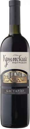 Вино Крымский Погребок Бастардо