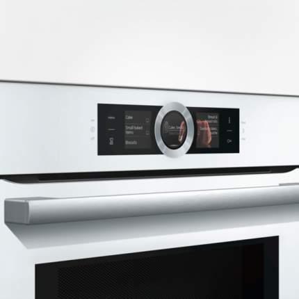 Встраиваемый электрический духовой шкаф Bosch CMG636BW1 Silver