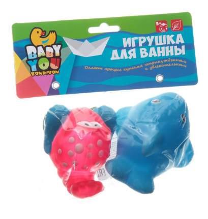 Игр. наб. для купания, Bondibon дельфин, краб