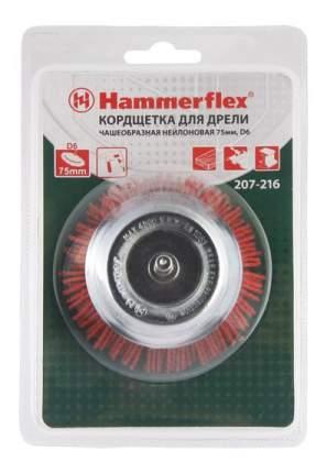 Чашечная кордщетка для дрелей, шуруповертов Hammer Flex 207-216 (62132)