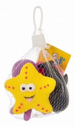 """Набор игрушек для ванны Курносики """"Морские животные"""", 4 шт."""