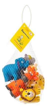 """Набор игрушек-брызгалок для ванны """"животные африки"""""""