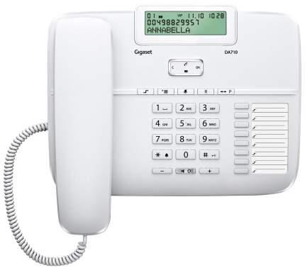 Проводной телефон Gigaset DA710 белый