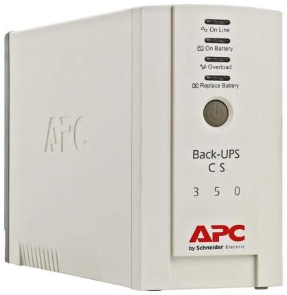 Источник бесперебойного питания APC Back-UPS BK350EI Белый
