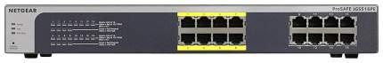 Коммутатор NetGear JGS516PE-100EUS Черный