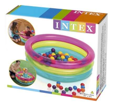 Надувной бассейн сухой Intex Малышок 86х25 см