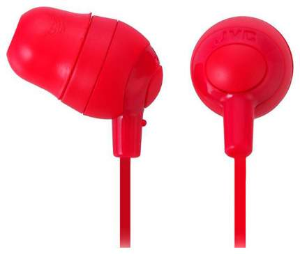 Наушники JVC Marshmallow HA-FX32-R Red