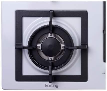 Встраиваемая варочная панель газовая Korting HG 695 CTW White