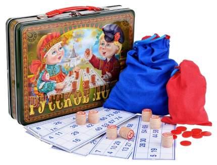 Семейная настольная игра Десятое Королевство Русское Лото Посиделки