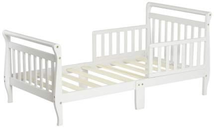 Кровать Dream On Me Classic Sleigh Toddler Bed White