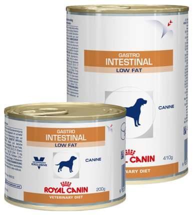 Консервы для собак ROYAL CANIN Gastro Intestinal Low Fat, мясо, 200г
