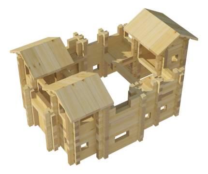 Конструктор деревянный Лесовичок Крепость №3
