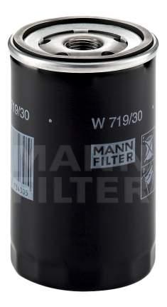 Фильтр масляный двигателя MANN-FILTER W719/30