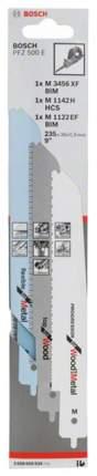 Полотно универсальное Bosch PFZ 500E 2608656934
