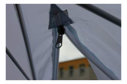 Палатка-автомат Стэк Elite трехместная белая/желтая/синяя