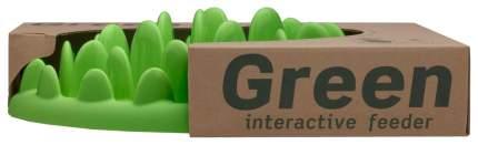 Интерактивная миска для собак Northmate, ПВХ, зеленый, 0.3 л