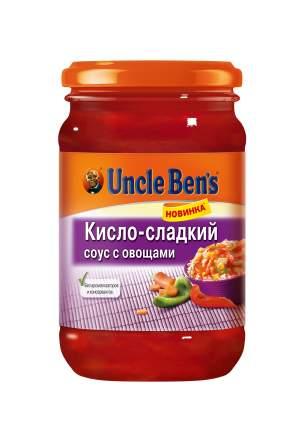Овощной  соус Uncle Ben's  кисло-сладкий с овощами 210 г