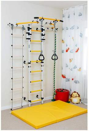 Детский спортивный комплекс Romana Карусель S5 (ДСКМ-2С-8,06,Т1,410,01-14) зелёно-жёлтый