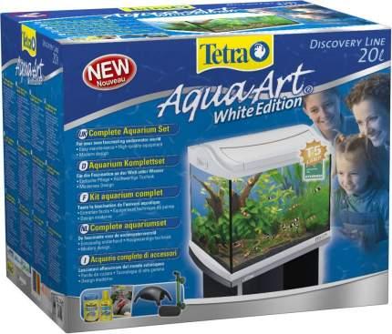 Аквариум для рыб, креветок, ракообразных Tetra AquaArt Shrimps Discover Line, белый, 20 л