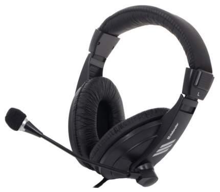 Игровые наушники Defender Gryphon 750U Black
