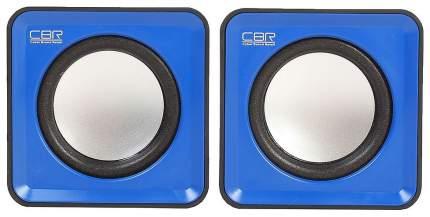 Колонки компьютерные CBR CMS 90 Blue динамики 4,5 см, USB